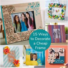 89 Best Decorate Picture Frames images in 2019 | Picture ...