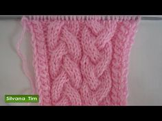 Cuello tejido en Dos Agujas / Paso a paso   Crochet y Dos agujas - Patrones de tejido