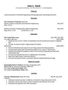 Industrial engineering resume objective