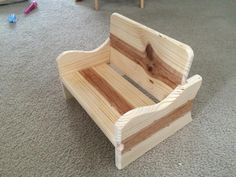 Toddler Chair - Woodworking creation by TonyCan