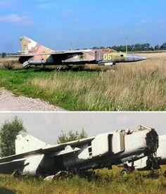 Abandoned MiGs and Other Aircraft Many massive Cold War airfields in Russia have now been destroyed, with their concrete used for other projects.  But in these distant corners of the world, some disused airfields will probably remain for generations, together with the aircraft that once frightened the West on a daily basis