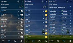 weather app - Google 検索