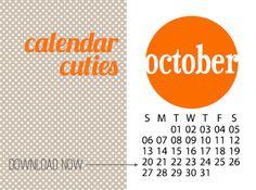 Project Life Calendar Download | iloveitallwithmonikawright.com