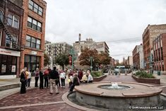 MilwaukSee: Catalano Square  MilwaukSee hits Catalano Square this week. Artists, students, lunchers, smokers, vendors, tourists, birdies and puppies. How great is the Historic Third Ward's Catalano Square? PHOTO: Erika Kent