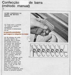01) Como Colocar o Pente de Montagem,   ou Régua de 200 Dentes   (Essa foto é do manual da Elgin,   mas serve também para a Lanofix)     ...