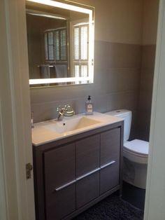 IB Mirror Rectangle Backlit Bathroom