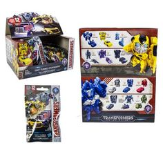 Transformers Tiny Turbo Changers Series 2 6-Pack - Hasbro - Transformers - Transformers at Entertainment Earth