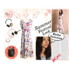 Summer Festival Look by Styligion by styligion on Polyvore featuring Mode