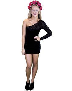 otto mode eldora dress - black