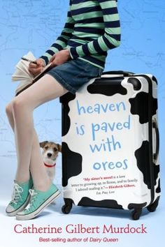 Heaven is Paved with Oreos by Catherine Gilbert Murdock.  Fourteen-year-old Sarah keeps a journal of her pilgrimage to Rome with her eccentric grandmother, Z, her evolving relationship with best friend Curtis, and daily conversations with Curtis's sister and star athlete, D.J.(New Young Adult 2/26/14)