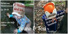 Herbst-und Wintermütze Bruno&Foxi 0-3 Jahre