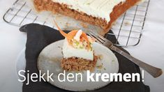 Gulrotkake Pie, Pudding, Sweets, Cookies, Baking, Desserts, Norway, Food, Inspiration