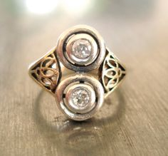 Antique Diamond Ring from 1900's.