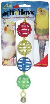 f6b3d53d38 JW Pet Activitoy Lattice Chain Bird Toy Cockatiel