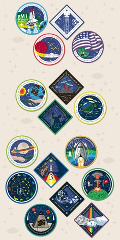 Likesurreal® Industries » Blog Archive » Space Patches