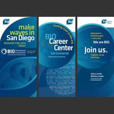Conference Signage Design for BIO