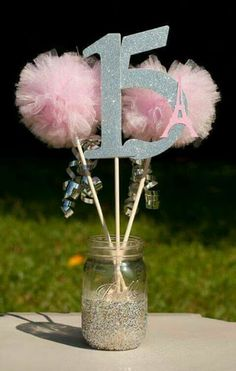 Eiffel Tower Paris Party Pink and Silver Centerpiece Table Decoration American Girl Party Grace Eiff Paris Party, Paris Birthday Parties, Birthday Party Tables, 15th Birthday, Pink Parties, Frozen Birthday Party, Birthday Decorations, Girl Birthday, Birthday Ideas