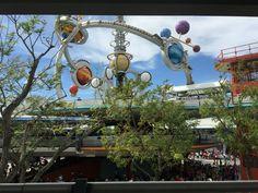 Astro Orbiter in Tomorrowland in Magic Kingdom