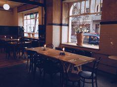 Beuster in Neukölln, Nice bar and restaurant serving seasonal and regional German fare