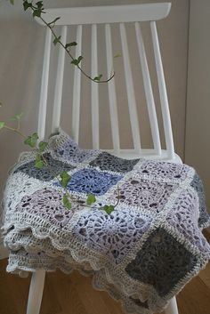 Bohemian oasis square blanket (link to pattern) by DROPS DESIGNlanket