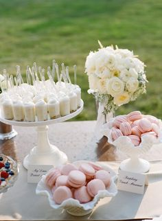 Elegant Wedding Desserts