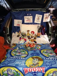 My Toy Story trunk or treat.