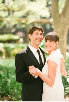 #allure #real #brides Bryant Park Wedding by Lindsay Madden Photography   Allure Bridals Blog