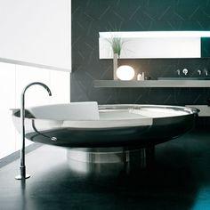 : Boffi Bathtub Design Ideas - Best Source of DIY Home Improvement Luxury Bathtub, Modern Bathtub, Modern Bathroom Design, Freestanding Bathtub, Modern Design, Spa Design, House Design, Design Ideas, Bad Inspiration
