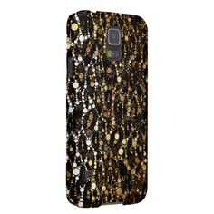 Brown Black Cheetah Abstract #Galaxy S5 Cover #cases #accessories #samsunggalaxy also available for other devices #zazzle #teenseyecandy