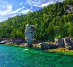 10 Places You Won't Believe Are in Ontario Alberta Canada, Ottawa, Tulum, Bruce Peninsula, Quebec, Places To Travel, Places To See, Travel Destinations, Flowerpot Island