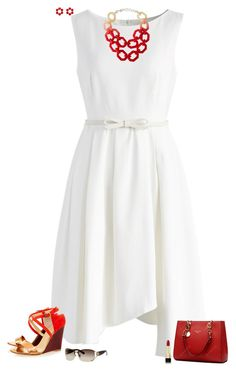 """""""Summer breeze"""" by julietajj ❤ liked on Polyvore featuring Chicwish, Alisha.D, Les Néréides, Eugenia Kim, Dolce&Gabbana and Gucci"""