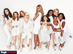 The Cast of Orange Is the New Black Tells All! | THE GANG'S ALL HERE | Orange Is The New Black, Netflix's slam dunk drama about women of Litchfield Federal Prison, returns for season 2 on June 6, with the cast that everyone's talking about. During PEOPLE's exclusive photo shoot, the stars dish on everything from fans and friendships to how they might hold up behind bars in real life.