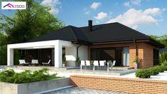 Z282 to wyjątkowy dom z kategorii projekty domów jednorodzinnych