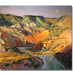 Louisa McElwain (1953-2013) - from the canyon series