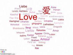 Muchas palabras para definirlo, muchos idiomas para decirlo… y un sólo sentimiento que nos une a todos.