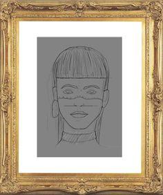Woman-WIP Nº1  Laboratorio de diseño : Ilustración  Adobe Photoshop Pereira-Risaralda- Colombia DI.Santiago Luna  #barvitý, #bocetacion, #cool, #creative, #desing, #Foto #realismo, #héroes #fun #see, #illustration, #knowing.#boy, #sketch, #smile, #Woman