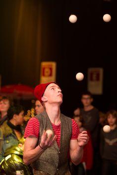 #Jongleur in Ahoy tijdens het #Kerst #circus
