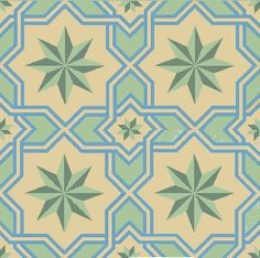 "Traditional Gran Cordoba Cement Tile Polished 8"" x 8"" Handmade Cement Tile"