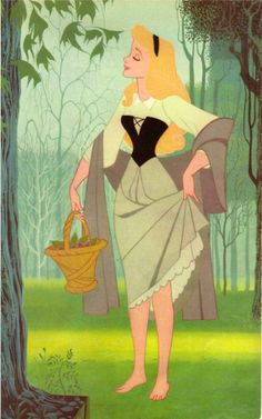 Disney: Model Sheet, Sleeping Beauty / Briar Rose