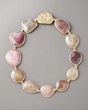 Yvel Multicolored Sapphire Necklace