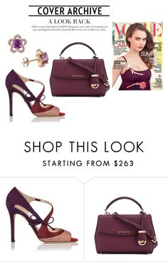 """""""J"""" by ena07-dlxx ❤ liked on Polyvore featuring L.K.Bennett and MICHAEL Michael Kors"""