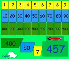 Place Value - Interactive Learning Sites for Education Math Games For Kids, Fun Math Activities, Activity Games, Math Place Value, Place Values, Ks1 Maths, Numeracy, Learning Sites, Teaching Resources