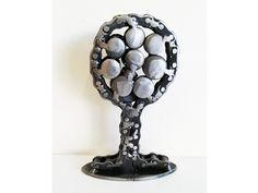 Tree sculpture metal / affordable sculpture / eco-friendly gifts Metal Art Sculpture, Tree Sculpture, Sculptures, Recycled Metal Art, Small Trees, Eco Friendly, My Etsy Shop, Scrap, Rust