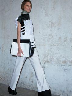 Tendencia de moda bicolor