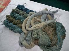 Black Bean dyeing (3) by p.hubler, via Flickr  click through for gorgeous photos of various natural plant dyes