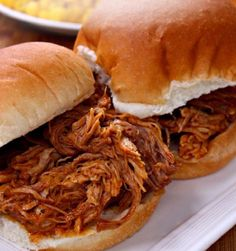 This is the last Crockpot Pulled Pork recipe you will ever need. It is PERFECT. … This is the last Crockpot Pulled Pork recipe you will ever need. It is PERFECT. Just 5 minutes of prep and you are on your way to some AMAZING BBQ! Best Slow Cooker, Crock Pot Slow Cooker, Crock Pot Cooking, Slow Cooker Recipes, Paleo Recipes, Crohns Recipes, Mexican Recipes, Crockpot Pork Recipes, Crockpot Party Food