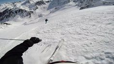 Just off the top of Verbier's Mont Gele tram, Peel Couloir is a great warmup run en route to a day of excellent lines. A short bootpack, followed by a quick traverse along a knife ridge leads to this perfect northeast couloir - that spills onto a huge apron called Col de Mouche.