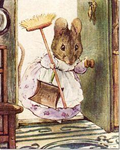 Resultado de imagem para mouse cottage illustration