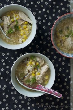 chinese chicken & sweet corn soup