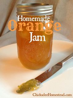 Awesome citrus jam recipe to use up oranges. I'm thinking this would be great on top of vanilla ice cream.List of citrus fruits This is a list of citrus fruits: This group contains about 15 species. Orange Jam Recipes, Sauce Pizza, Jam And Jelly, Jelly Recipes, Drink Recipes, Vegetable Drinks, Sauces, Canning Recipes, Ice Cream